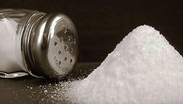 los riesgos de la sal común