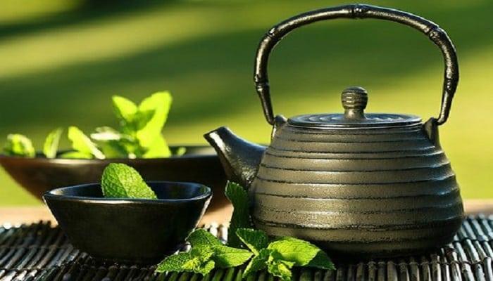 los beneficios del té de menta