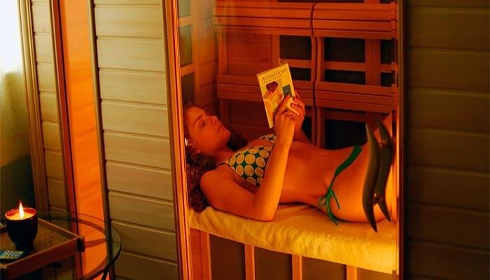 beneficios de una sauna de infrarrojo