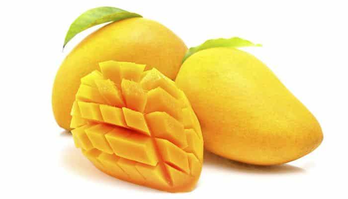 el mango maduro