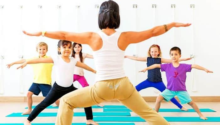 el yoga para niños