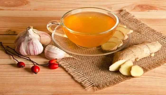 beneficios del té de ajo