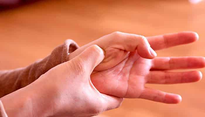 el masaje de acupresion