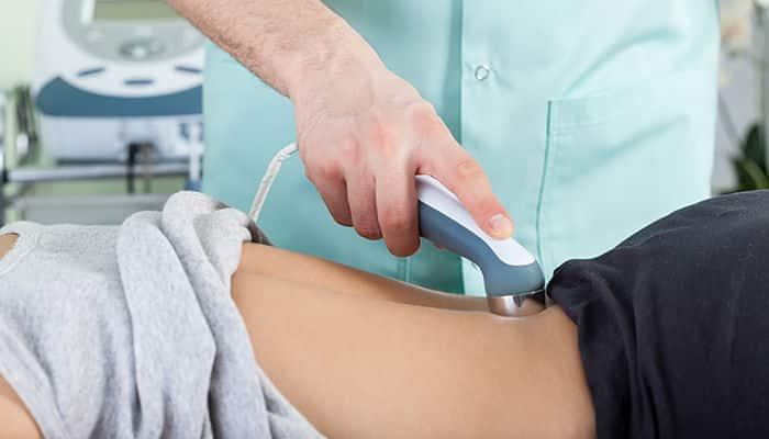 fisioterapia con ultrasonido