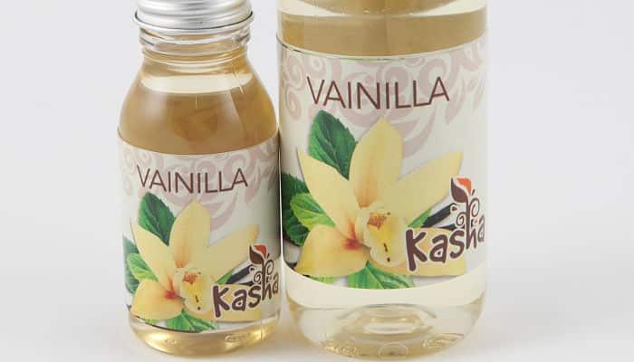el aceite de vainilla