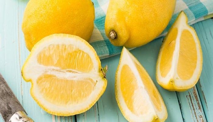 nutrición con limón