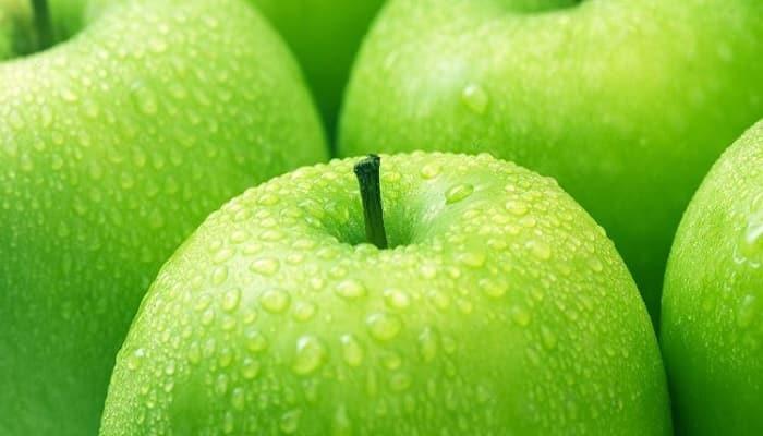 manzanas verdes en embarazadas