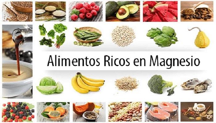 beneficios de los alimentos ricos en magnesio