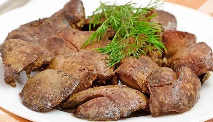 beneficios del hígado de pollo
