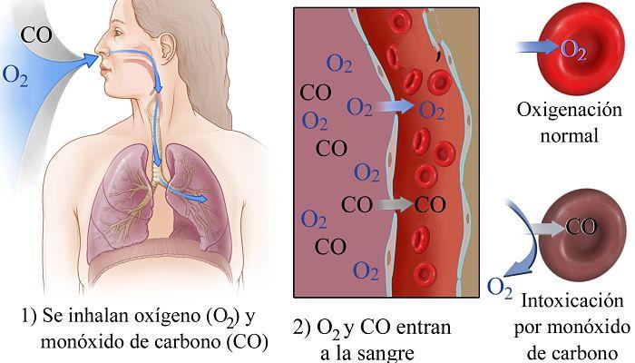 el monóxido de carbono