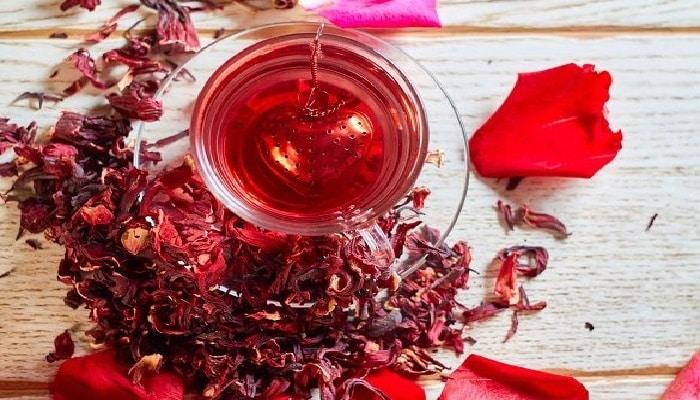 beneficios del té de hibisco