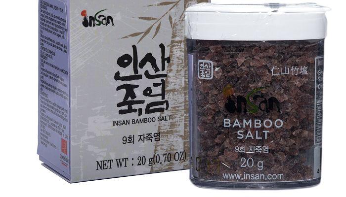la sal de bambú coreana