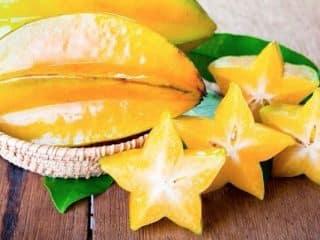fruta de estrella