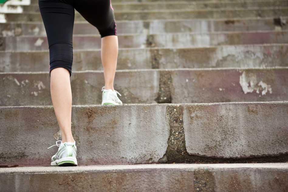 Bajar y subir escaleras