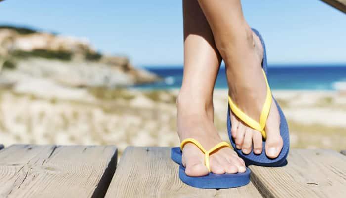 usar sandalias